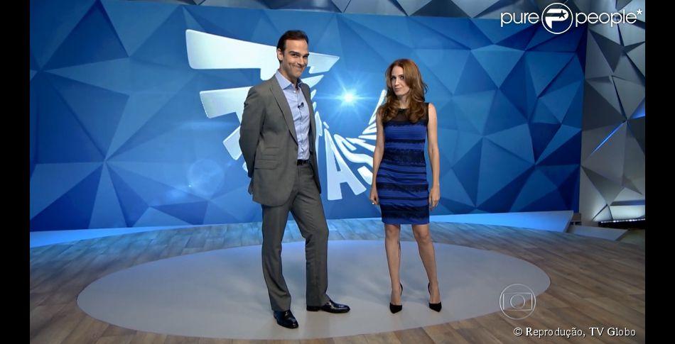 Polemica da cor do vestido azul