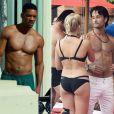 No filme 'Golpe Duplo', Rodrigo Santoro se envolve com Margot Robbie, formando triângulo amoroso com o personagem de Will Smith