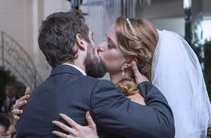 Reta final da novela 'Império': veja as fotos do casamento de Cristina e Vicente