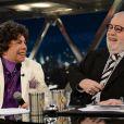 Cauby Peixoto se divertiu quando foi entrevistado por Jô Soares