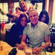 Roberto Justus publicou fotos com as filhas, enquanto Rafa Justus fazia palhaçada
