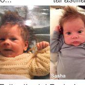 Shakira mostra semelhança entre o filho Sasha e o marido, Gerard Piqué, em foto