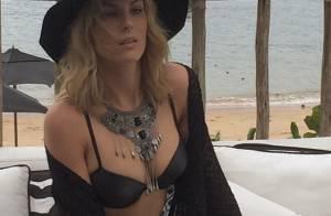 Ana Hickmann aparece com barriga chapada em foto de biquíni: 'Deusa'