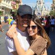 Após reconciliação, Kaká e Carol Celico também curtem parques nos Estados Unidos