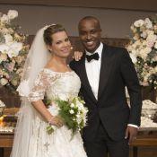 Fernanda Souza divulga fotos oficiais de seu casamento com Thiaguinho. Confira!