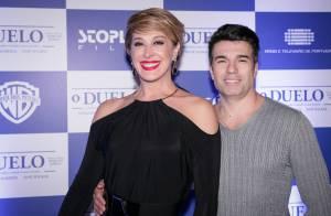 Claudia Raia comenta relação do marido com Enzo e Sophia: 'Não paga de pai'