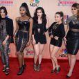 As integrantes do grupo Fifth Harmony também optaram pelo preto em seus looks