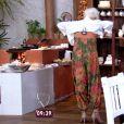 Ana Maria Braga muda look ao vivo no programa 'Mais Você' e brinca:'A saruel virou macacão'