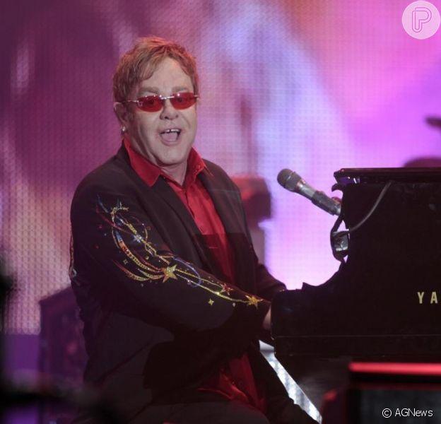 Rock in Rio confirma apresentação de Elton John no festival em 2015, nesta terça-feira, 31 de março de 2015