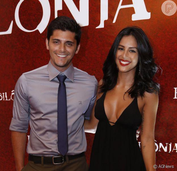Bruno Gissoni e Yanna Lavigne terminam namoro após dois anos