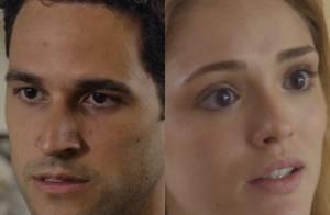 Novela 'Sete Vidas': após casamento, Edgard acredita que Júlia está grávida