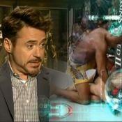 Robert Downey Jr. se inspira em Anderson Silva para compor 'Homem de Ferro 3'