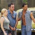 Marcos Pasquim protagonizou o seriado 'Guerra & Paz' com Danielle Winits