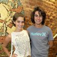 Isabella Santoni e Rafael Vitti foram juntos ao lançamento do CD de Maria Luisa, atriz da novela 'Malhação', neste domingo, 12 de abril de 2015, no Rio de Janeiro
