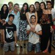 Famosos prestigiaram lançamento do CD de Maria Luisa, atriz da novela 'Malhação', neste domingo, 12 de abril de 2015, no Rio de Janeiro