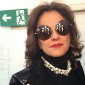 Marieta Severo compra sanduíche na SPFW, mas não paga: 'Não trouxe dinheiro'