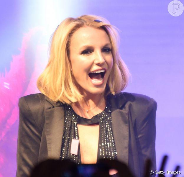 De acordo com o site 'TMZ', Britney Spears teria perdido a paciência com um fã que a chamou de gorda durante uma apresentação do show 'Piece Of Me', na noite da última quarta-feira, 15 de abril de 2015