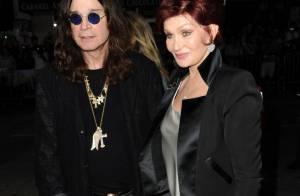 Sharon e Ozzy Osborne aparecem juntos em público após crise em função do álcool