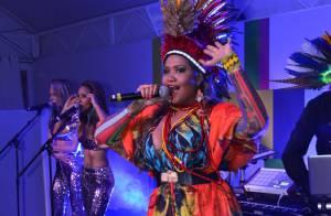 Gaby Amarantos leva tecnobrega para Cannes em show para 800 convidados