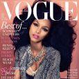 A top já estampou a capa da revista 'Vogue' da Alemanha