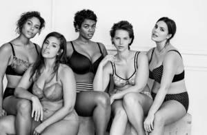 Ashley Graham e outras modelos questionam padrões em campanha de lingerie