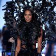 A modelo também desfilou no ano passado pela Victoria's Secret pela linha 'Angel Ball', em Londres