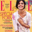 A top foi capa da edição francesa da revista 'Elle' de abril