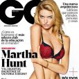 A top model foi capa da revista 'GQ México' do mês de fevereiro