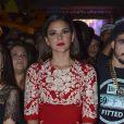 9dfc3616b8595 Bruna Marquezine ostentou na festa de lançamento de  I Love Paraisópolis   usando um vestido