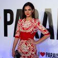 Na festa de lançamento da novela 'Em Família', no início de 2014, Bruna também usou um vestido Dolce & Gabbana, no valor de R$ 24.815