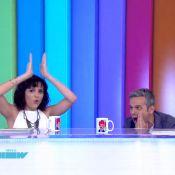 No 'Video Show', Monica Iozzi imita abertura do 'Fantástico' com Carolina Ferraz
