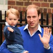 Príncipe William leva o filho, George, para visitar Kate Middleton em hospital