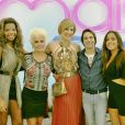 Anitta e Ludmilla participaram de 'Alto Astral' ao lado de Ana Maria Braga, Claudia Raia e Conrado Caputo