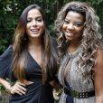 Cantoras do mesmo gênero e autoras de hits, Anitta e Ludmilla são amigas e participam juntas da novela 'Alto Astral'