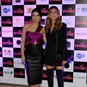 Vanessa Giácomo e Fernanda Paes Leme prestigiam pré-estreia do filme 'Divã a 2'