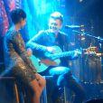 Michel Teló canta ao vivo a música 'Maria' para Thais Fersoza'