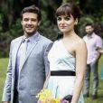 Scarlett (Monica Iozzi) e Ricardo (Nando Rodrigues) foram felizes para sempre no último capítulo da novela 'Alto Astral'