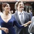 Maria Inês (Christiane Torloni) e Marcelo (Edson Celulari) ficaram juntos e felizes para sempre no último capítulo da novela 'Alto Astral'