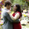 Bia (Raquel Fabbri) finalmente se entreou ao amor de Israel (Kayky Brito) e os dois tiveram seu felizes para sempre no último capítulo da novela 'Alto Astral'
