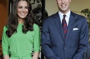 Kate Middleton está grávida de seu primeiro filho com o príncipe William