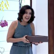 Fátima Bernardes leva brigadeiro para Ana Maria Braga no 'Mais Você': 'Eu fiz'