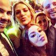 Giovanna Ewbank curtiu o casamento de Preta Gil e Rodrigo Godoy ao lado do marido, Bruno Gagliasso, e de amigos, como Giovanna Lancellotti