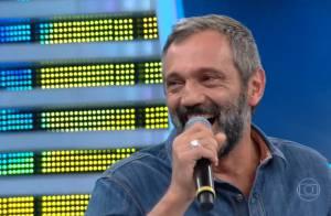 Domingos Montagner se emociona ao receber recado de ex-alunos: 'Maior carinho'