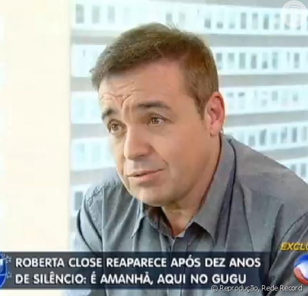 Gugu pagou R$ 200 mil para entrevistar a transexual Roberta Close, de acordo com o colunista Leo Dias, do jornal 'O Dia'