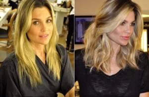 Flávia Alessandra muda visual e exibe novo corte de cabelo no 'Vídeo Show'