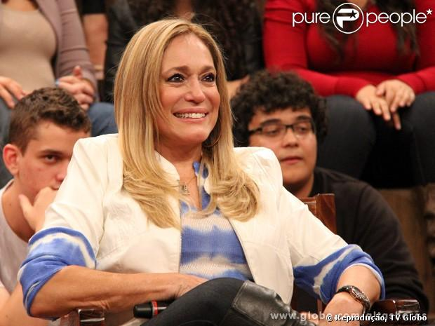 Susana Vieira desabafa sobre o preconceito que as pessoas têm a respeito de seu relacionamento com Sandro Pedroso no programa 'Altas Horas', que vai ao ar em 1º de maio de 2013