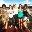 Angélica estava no Pantanal gravando uma temporada de seu programa, o 'Estrelas'