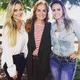 Angélica também gravou o 'Estrelas' no Pantanal  com a atriz Ellen Rocche e a cantora Aline Lima