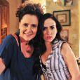 Elizabeth Savalla vive a ex-chacrete Márcia, em 'Amor à Vida'
