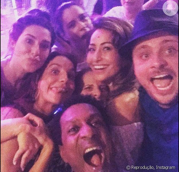 Sabrina Sato, Fernanda Paes Leme e outros famosos curtiram a noite de sexta-feira, 29 de maio de 2015, na festa de aniversário de Ivete Sangalo